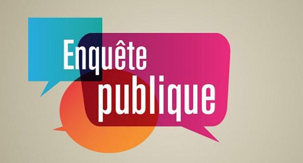 Logo enquête publique