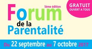 Logo Forum de la parentalité