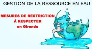 Logo gestion de la ressource en eau