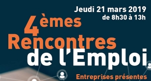 Logo rencontres de l'emploi 2019