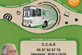 Affiche bus numérique