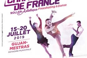 Affiche Championnat de France Artistique & Danse