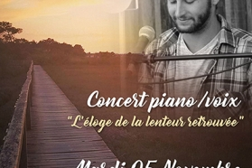 Affiche Concert Thibault Dupont