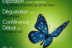 Affiche Journée de l'Europe