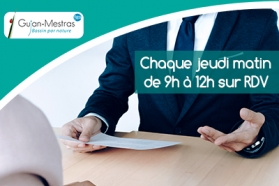 Affiche permanence accompagnement administratif