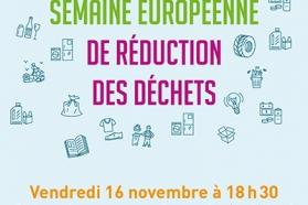 Affiche Semaine Européenne de Réduction des Déchets