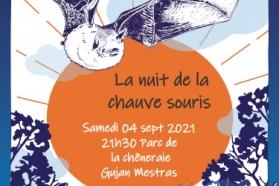 Afiche nuit de la chauve-souris