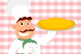 Image dessin cuisinier