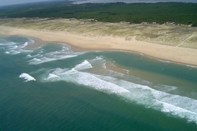 Image littoral sableux