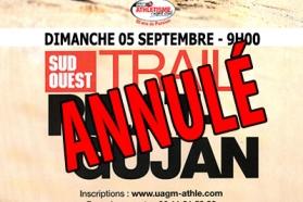 Logo Trail Pilat Gujan annulé