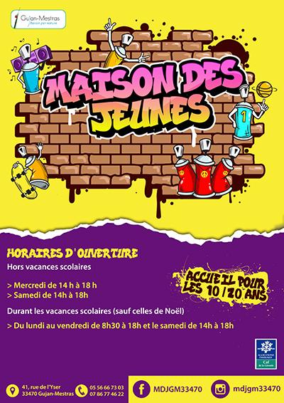 Affiche horaires Maison des Jeunes.jpg